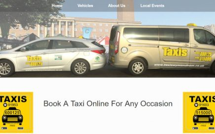 Taxis Website Screenshot
